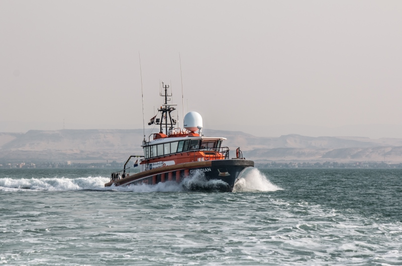 Braveheart Marine - Crew safely rescued after accident Guardian